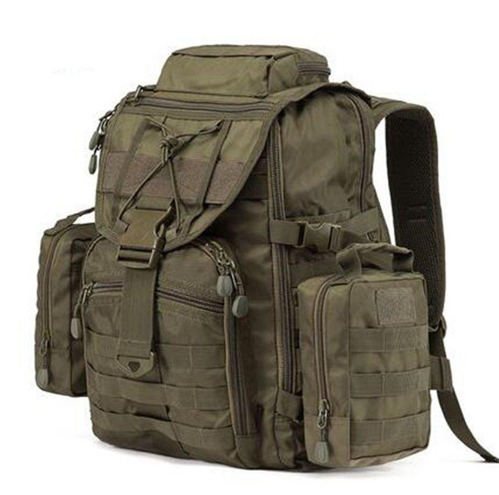SHULING Outdoor Bergsteigenbeutel Rucksack Multifunktions Große Kapazität Tasche Armee Fan Ausrüstung Camping Tactical Rucksack