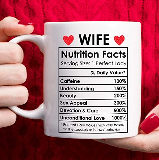 Amazon Com Valentines Day Gifts For Wife From Husband Happy Anniversary Gifts For Her Wife Birthday Gifts Ideas Mothers Day Gifts For Wife Best Wife Ever Gifts Romantic Wife Christmas Gifts Coffee Mug