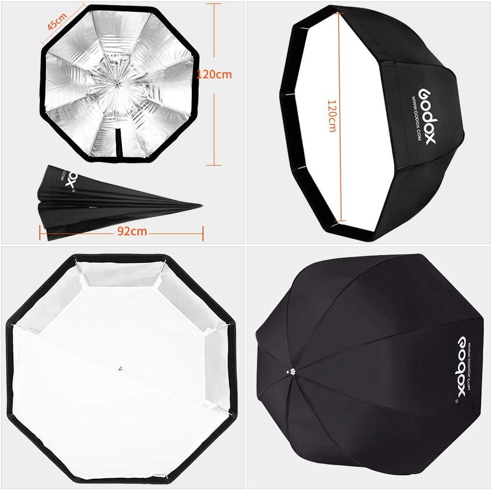 GODOX 32// 80cm Umbrella Octagon Portable Softbox Reflector for Studio Photography Speedlite Flash 80cm Octagon Softbox