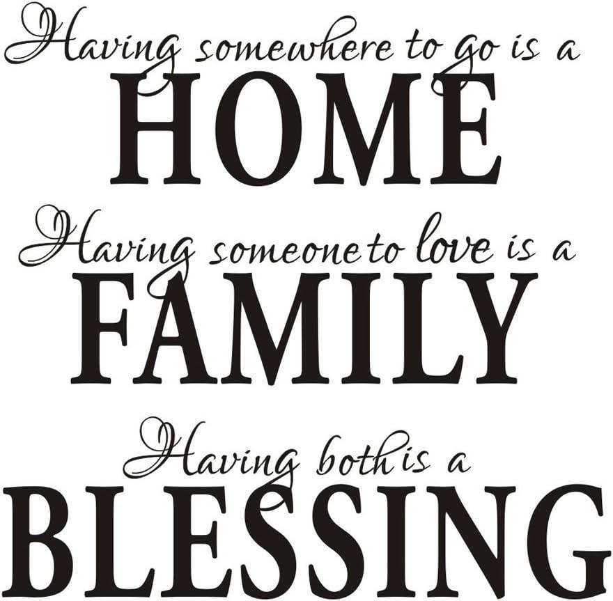 com having somewhere to go is a home family blessing