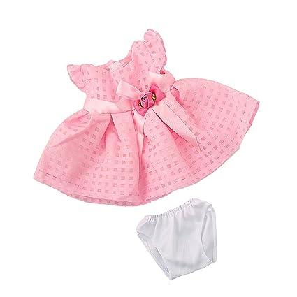 Sharplace Vestido Falda Traje sin Mangas con Ropa Interior para 18 Pulgadas American Girl Muñecas