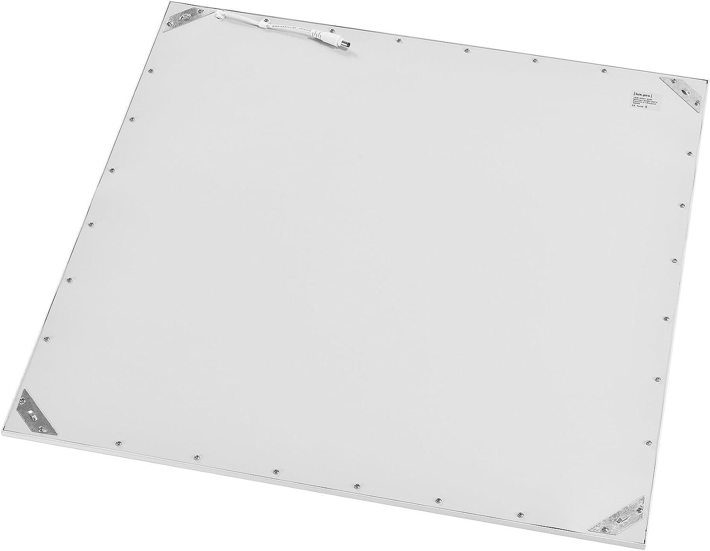 lux.pro Hi-Power Ultraslim LED Panel Warmwei/ß 62x62cm 2800 lm 40W Einbaustrahler Deckenleuchte