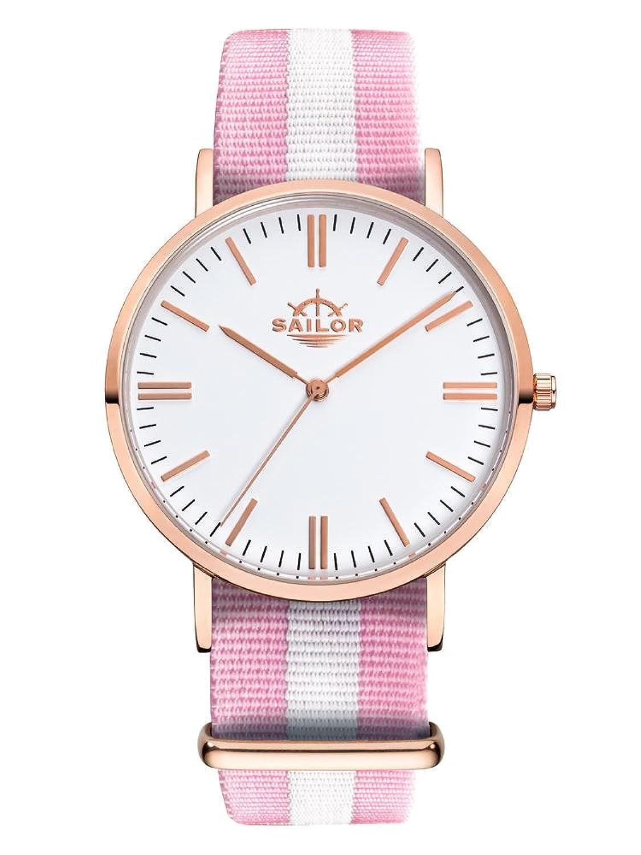 Sailor Armbanduhr Classic Sun mit Nylonarmband | Die Trend-Uhr 2017 auf vielen Fashion Shows von Paris bis New York