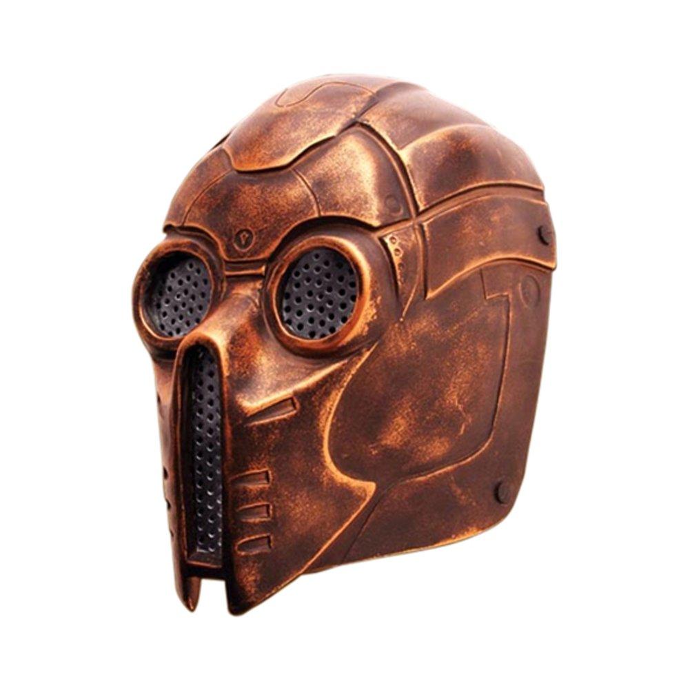 Armor Venue - Archangel Fiberglass Mask - Steampunk Mask Metallic One Size
