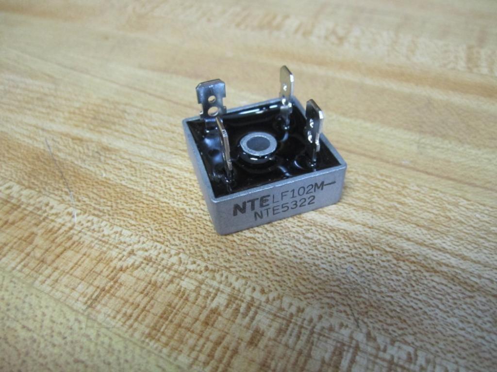 Pack of 2 NTE NTE5322 Bridge Rectifier LF102MNTE5322