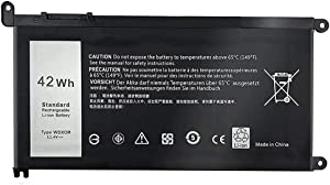 WDX0R Replacement Laptop Battery for Dell Inspiron 13 5368 5378 5379 7368 7378 Dell Inspiron 14 7460 Dell Inspiron 15 5565 5567 5568 5578 7560 7569 7570 7579 Dell Inspiron 17 5765 5767 5770