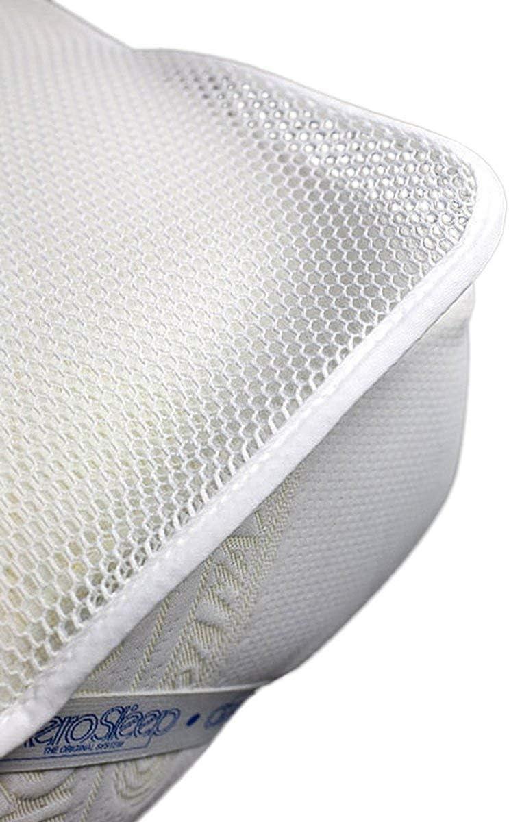 AeroSleep Prot/ège-matelas Blanc 120 x 60 cm