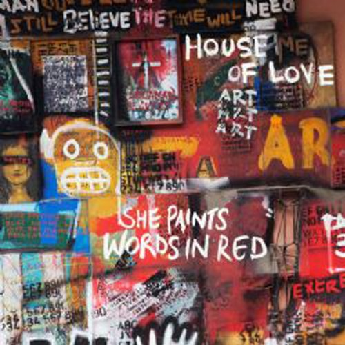(She Paints Words In Red)