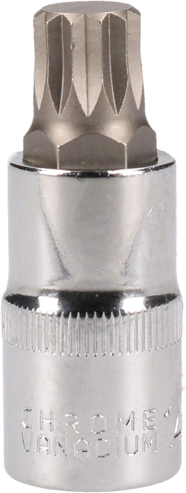 "M14 x 55mm 1//2/"" Drive Shallow Stubby Spline Triple Square Male Socket"