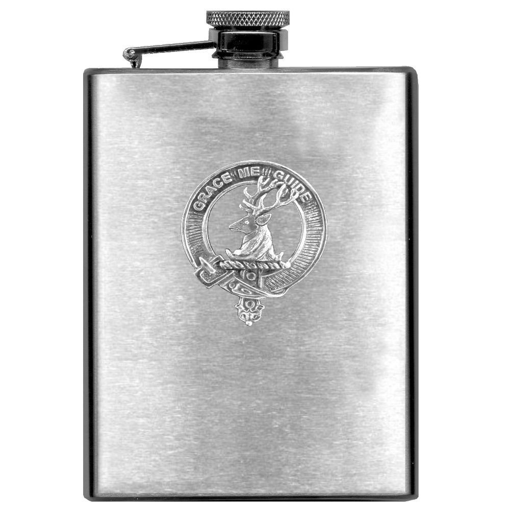 Forbes Scottish Clan Stainless Steel 8oz Flask