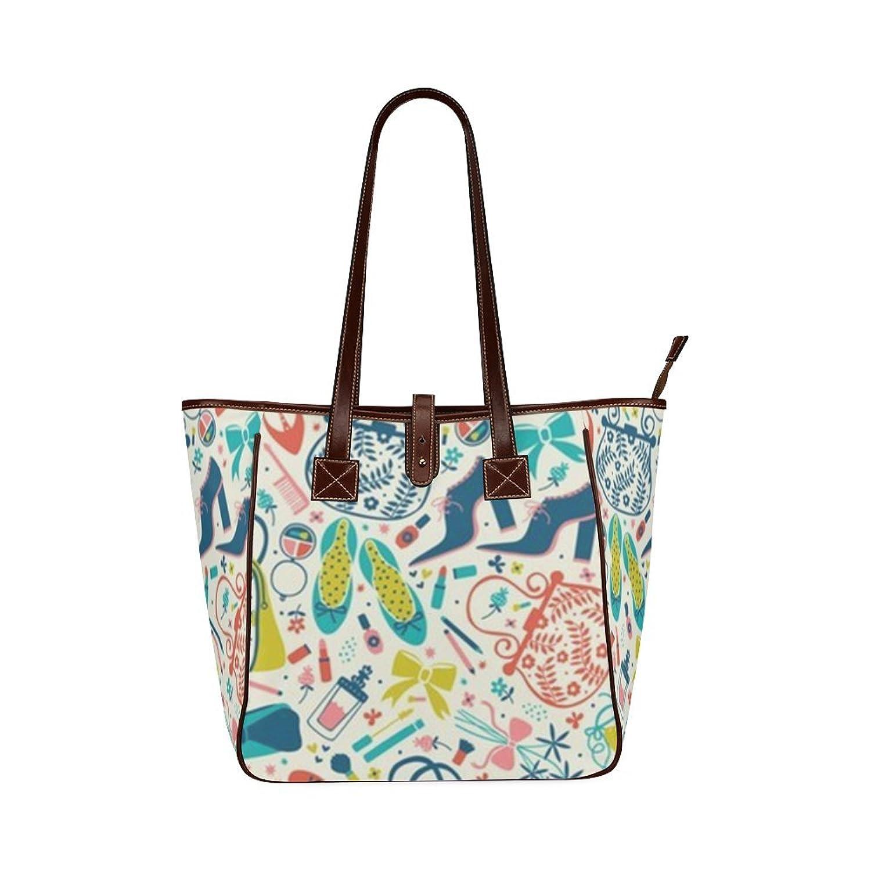 Custom Heels and Handbags Classic Leather Tote Bag/Handbag/Shoulder Bag for Women Girls By Boom~Shakalaka
