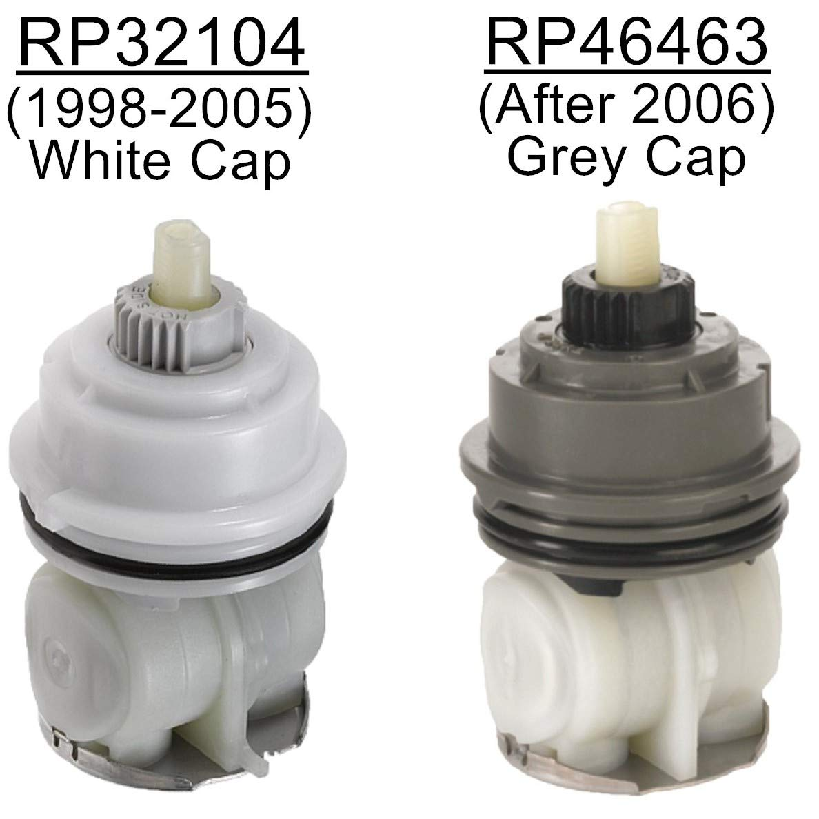 RP46463 Cartridge Assembly Replacement For Delta MultiChoice 17 Series (2006-Present) Shower Faucet RP46073 Seat and Spring Adapter included