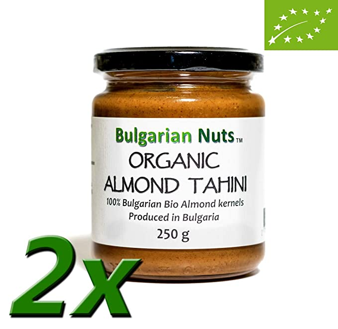 500 g Manteca de Almendra Orgánica/Tahini - Bulgarian Nuts®