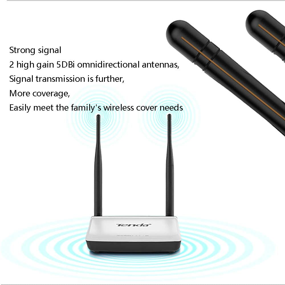 with 4 LAN Ports for Home Office Internet Router Smart Wireless Router 300Mbps Wi-Fi Zhengpin Router Long Range