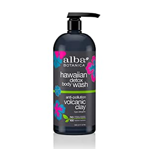 ALBA BOTANICA Wash Body Hawaiian Detox, 32 Ounce
