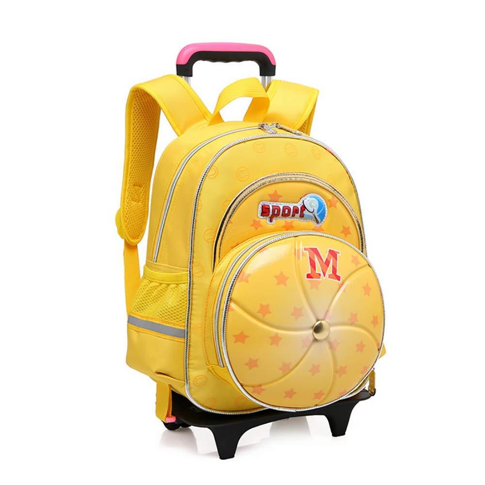 QCC& Kindergarten Junge Mädchen Sicherheit Reflektierend Trolley Schule Rucksack Taschen Mit Rädern Entfernbar Wasserdicht Reisetaschen Für Kinder F