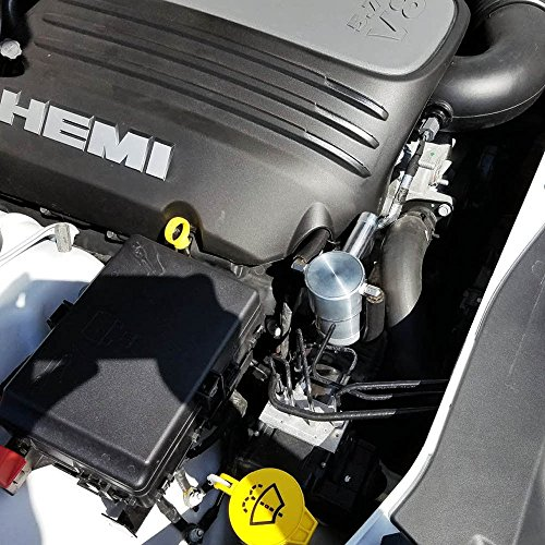 09-18 UPR 5.7L Black Billet Catch Can Z bracket HEMI Technology Charger Challenger by UPR Products (Image #3)