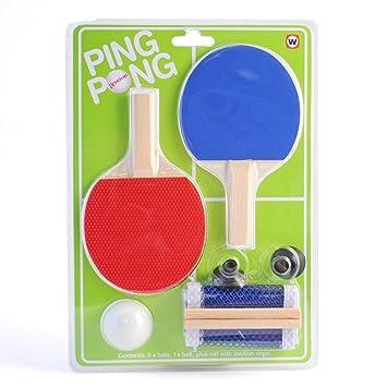 Indoor Mini Office Desktop Ping Pong Table Tennis Set  sc 1 st  Amazon UK & Indoor Mini Office Desktop Ping Pong Table Tennis Set: Amazon.co ...