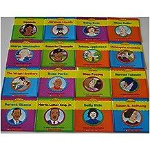 New Set of 16 Very First Biographies Children's Books Homeschool Grade 1 2 Reading