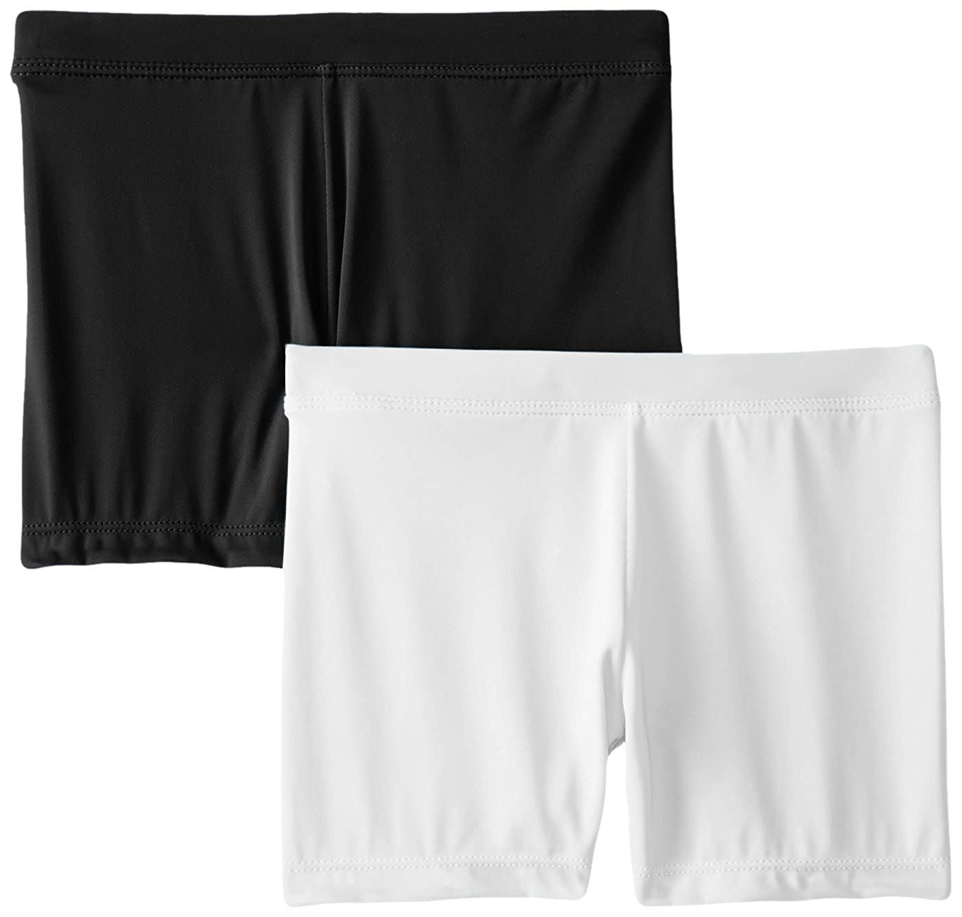 Playground Pals Girls Slim 2 Pack Shorts