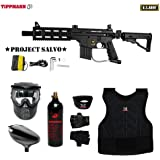 MAddog Tippmann U.S. Army Project Salvo Beginner Protective CO2 Paintball Gun Package