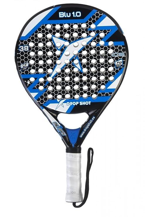 DROP SHOT Blue 1.0 - Pala de pádel Unisex, Color Negro/Azul/Blanco ...
