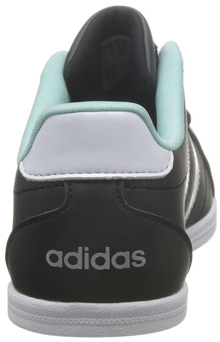 new concept 2019f fa63d adidas VS Coneo QT W Femmes Sneaker Noir Chaussures Femme Baskets Top  Amazon.fr Chaussures et Sacs