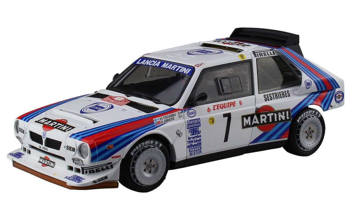 Beemax Aoshima 98851 Lancia Delta S4 1986 Monte Carlo Rally Ver. 1/24 scale kit B24020