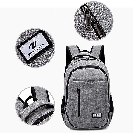 Amazon.com | Slim Business Laptop Backpack Elegant Casual Outdoor Sports Rucksack Shoulder Bag for Men Women, Tear Resistant Unique Travelling Backpack Fits ...
