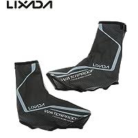 Lixada Cubrezapatos Térmico Impermeable A Prueba de Viento Chanclos Protector MTB Bicicleta de Montaña