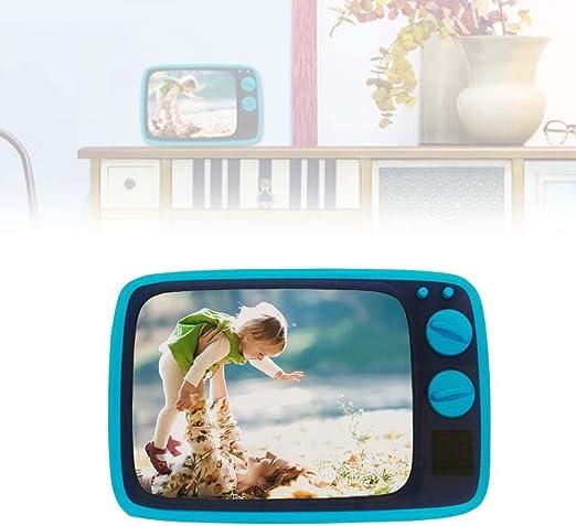 kamiustore Fotos TV Vintage – Marco para Photo A Forma de televisor Vintage 18 x 12 cm: Amazon.es: Hogar