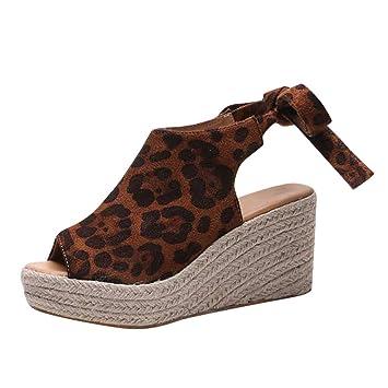 59698e6dc04f9 Amazon.com: EDTO Women Comfy Platform Sandal Shoes, Women Ankle ...