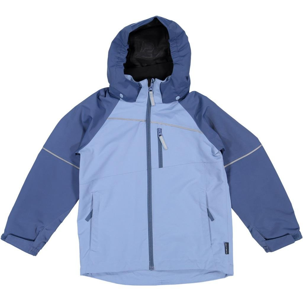 Polarn O. Pyret Shell Jacket (6-12YRS) - Ensign Blue/6-7 Years