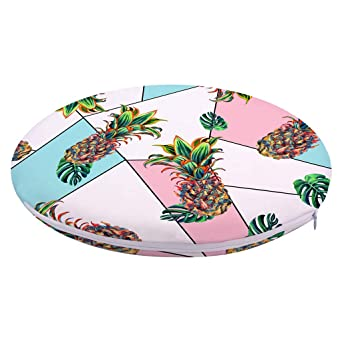 Amazon.com: Round Soft Chair Cushion Pad Indoor Outdoor ...