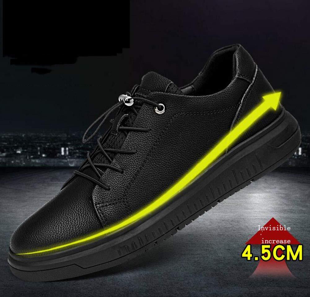 Herrenschuhe, Leder-Frühlingsschüler Flat Loafers, Casual Casual Casual Turnschuhe, Mens Walking Gym Schuhe Trekking Travel Schuhe Radschuhe,b,40 45dcef