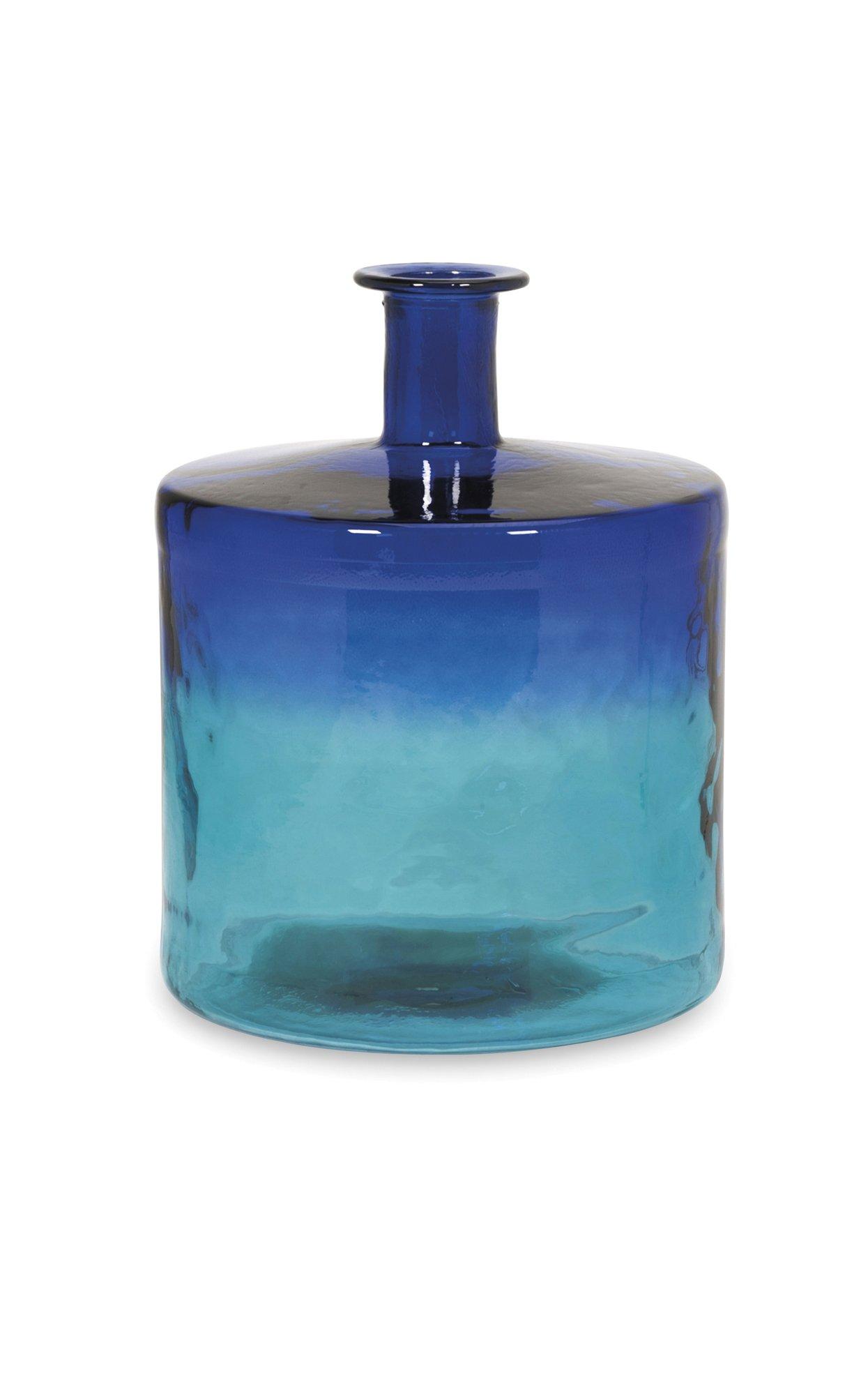 Imax 84526 Luzon Short Oversized Recycled Glass Vase
