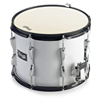 Stagg 22088 13 x 10-Inch Marching Snare Drum - White