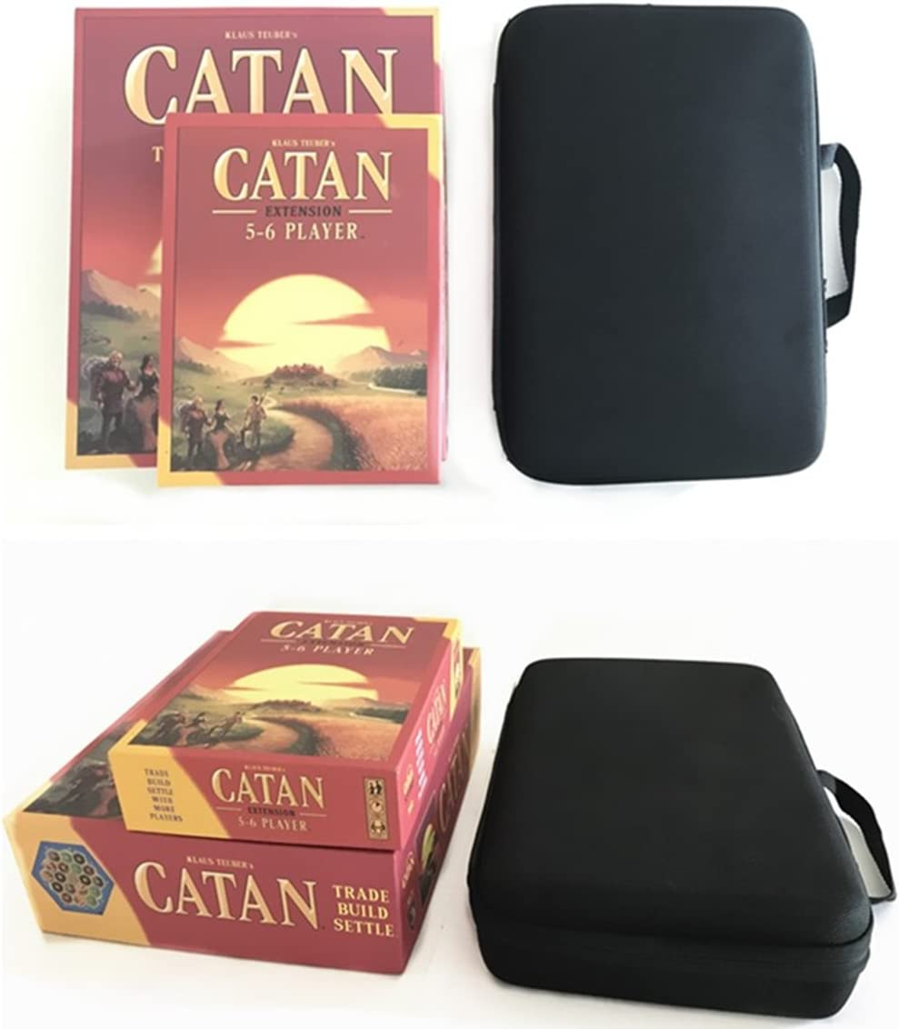 Magecraft-Travel - Funda rígida de transporte para Catan 5ª edición y expansión de 5-6 jugadores: Amazon.es: Deportes y aire libre