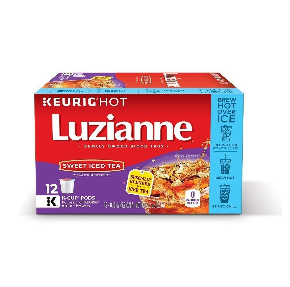 Luzianne Sweet Iced Tea Keurig K-Cup Pods (12 Count)