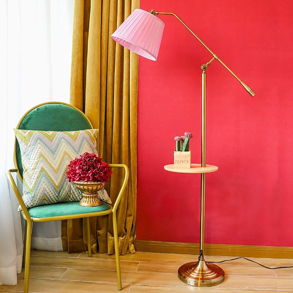 フロアランプ、アメリカのカントリーフロアランプコーヒーテーブルランプミックスとマッチレトロリビングルームのベッドサイドの読書ランプ、3色 (色 : B) B07KMZW85W B B