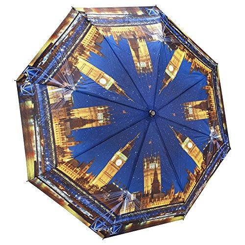 Galleria Folding Umbrella - GALLERIA Umbrella Folding London At Night, 1 EA