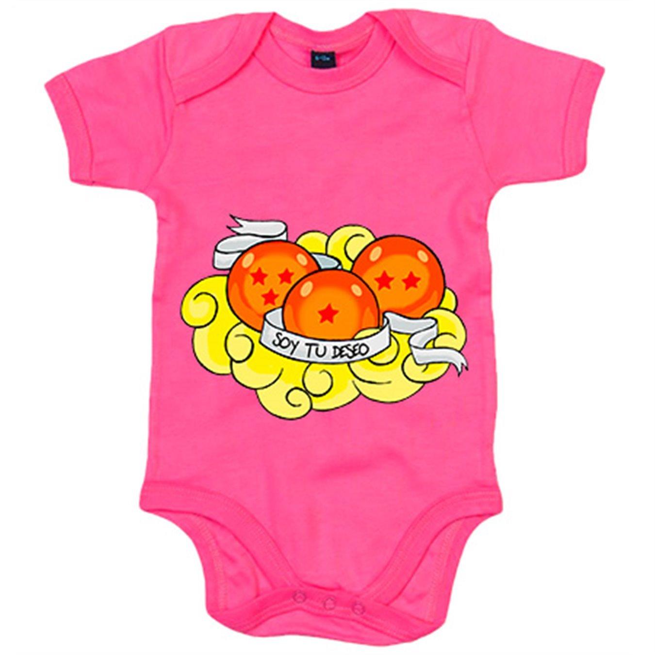 c491d74f97 Body bebé Dragon Ball soy tu deseo cumplido bolas de dragón recién nacido -  Amarillo