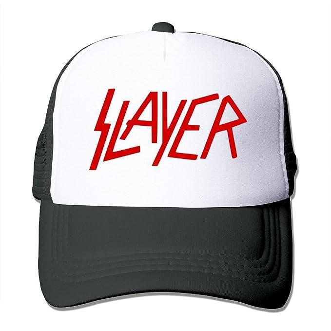 Yhsuk Slayer Rock Band Sandwich Peaked Hat//cap Black