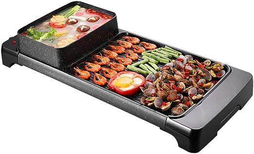 electric grill Barbacoa Coreana Parrilla Hot Pot Parrilla De Mesa ...