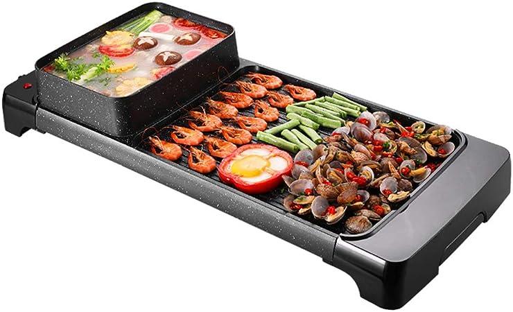 electric grill Barbacoa Coreana Parrilla Hot Pot Parrilla De ...