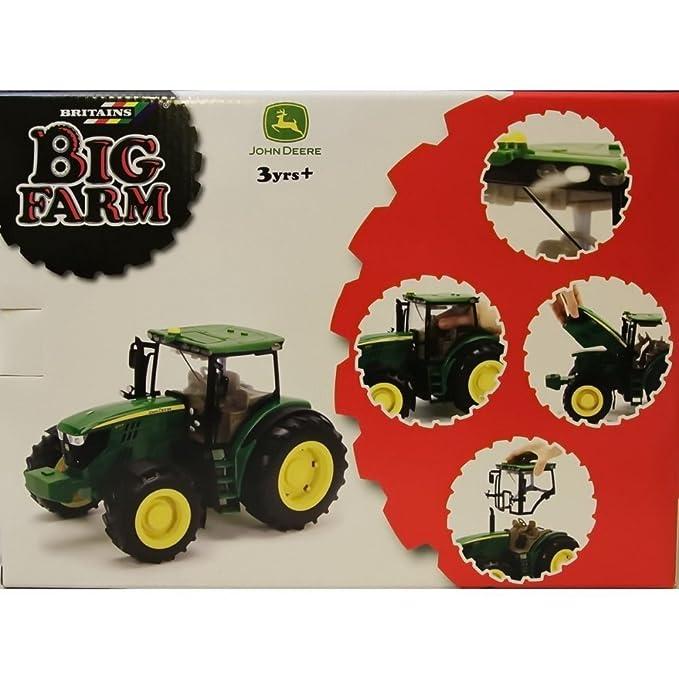John Deere - Tractor 6210R (Bizak 30692837): Amazon.es: Juguetes y juegos