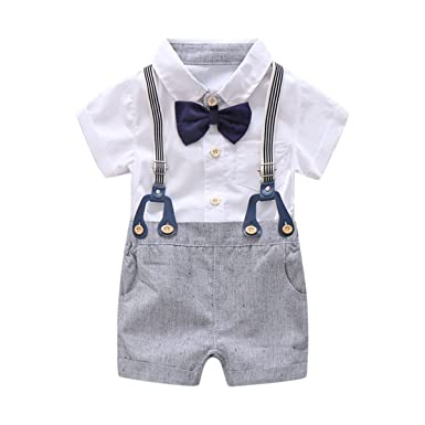 260112c7320a Amazon.com  Baby Boys Gentleman Outfits Suits
