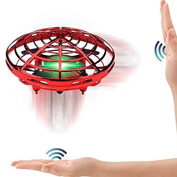 Interactivos Ball 360 Juguete °led Inducción Aeronave Specool Infrarrojos Ufo Mini Luces Giratorias Volador Sensores Drone Helicóptero Con De QCEBordxeW