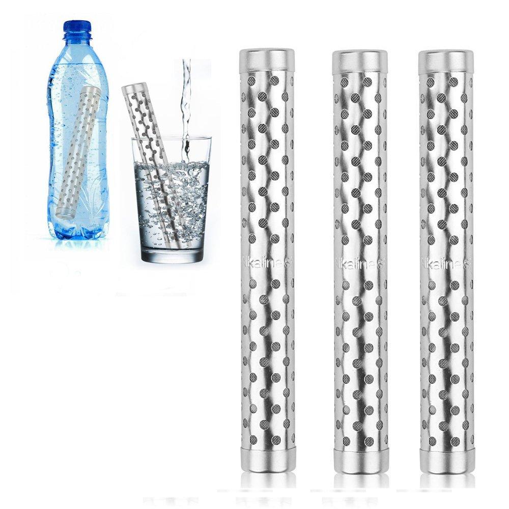 HailiCare 3 Piezas Varillas purificadoras de agua con filtro alcalino ionizador del pH Iones negativos Agua Nano Energía.: Amazon.es: Hogar