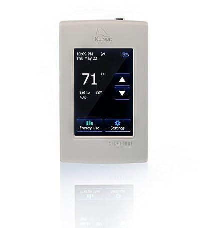Amazon.com: NUHEAT AC0055Firma WiFi visualizació ...